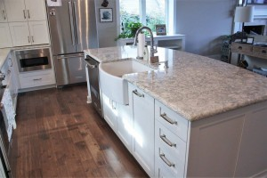 quartz kitchen countertop